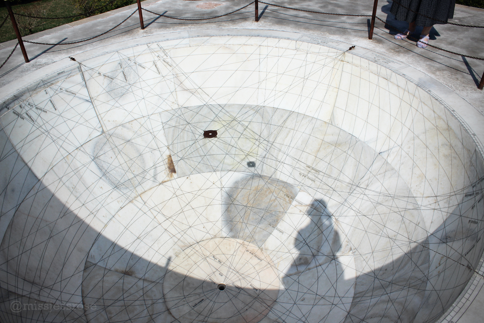 This giant bowl helps measure the position of celestial bodies in the sky.
