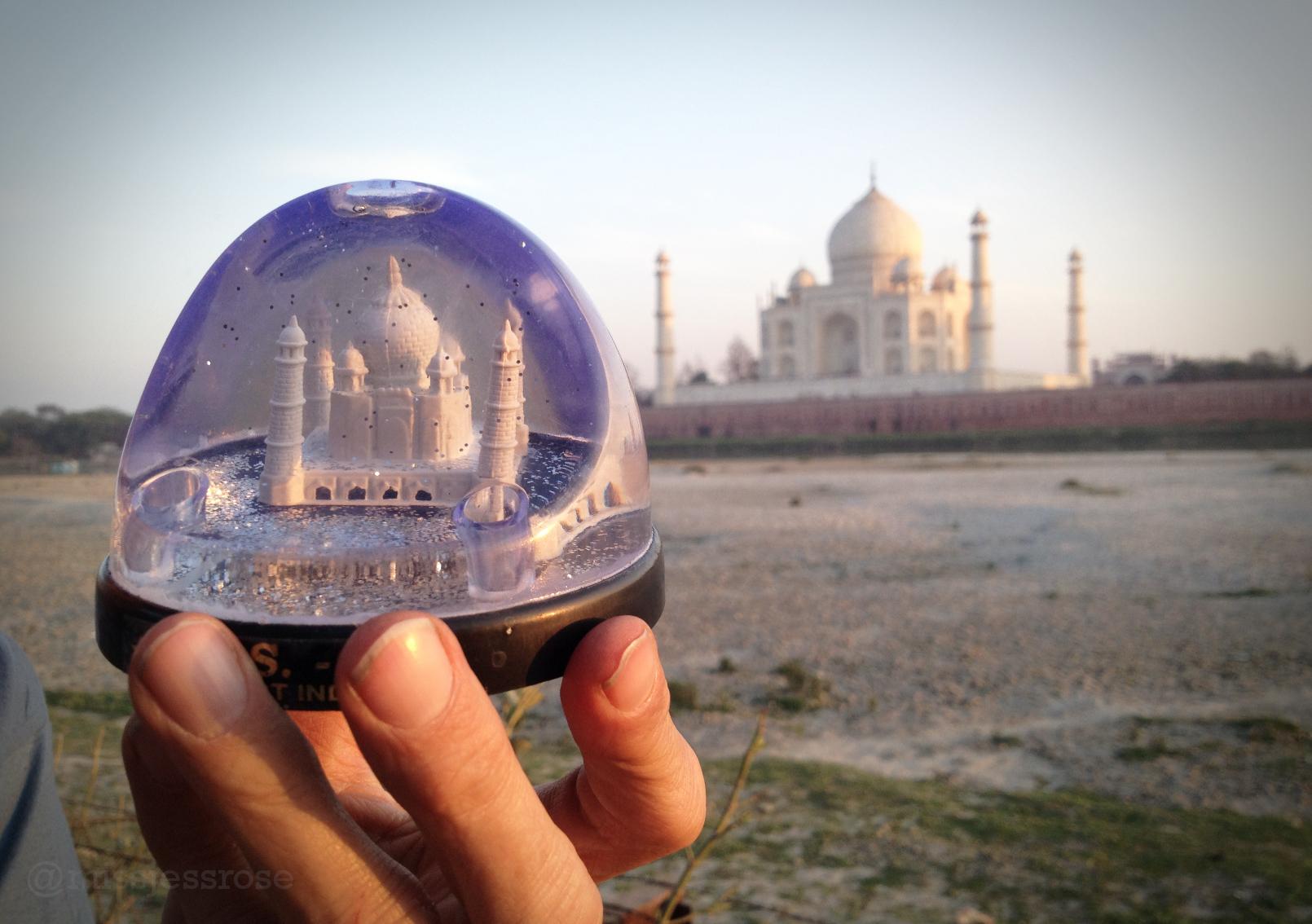 Mini Taj, big Taj