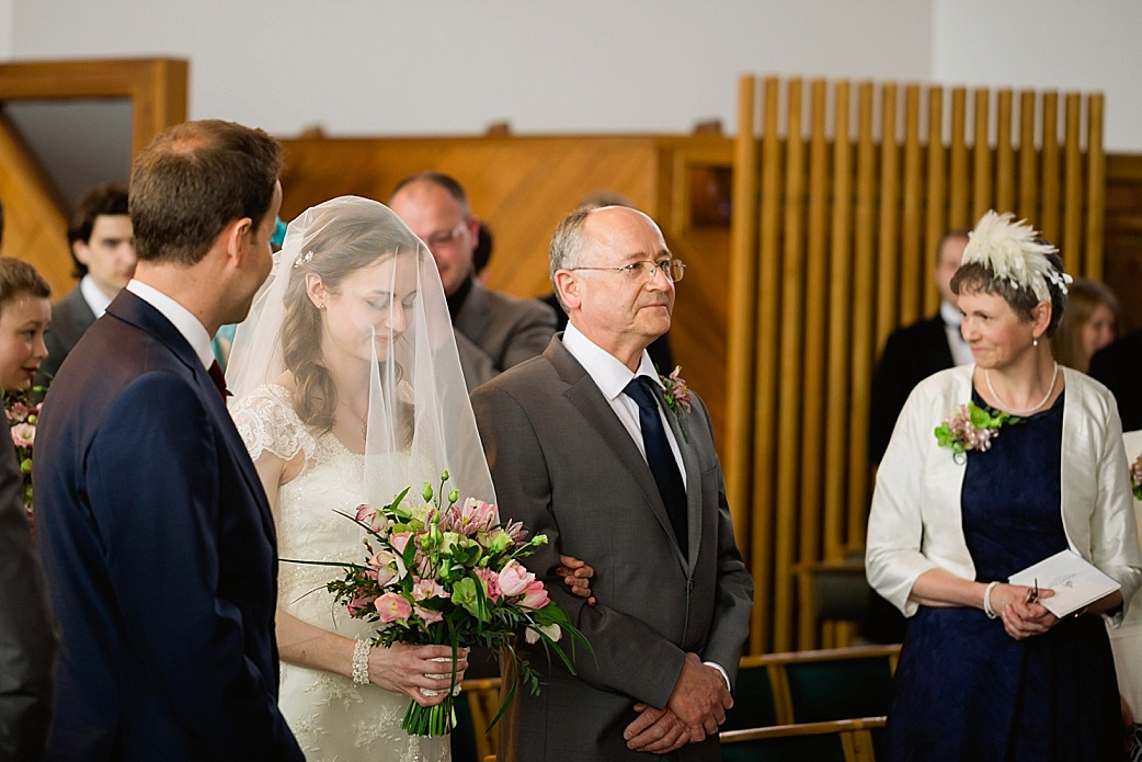 St Georges Church Leeds wedding