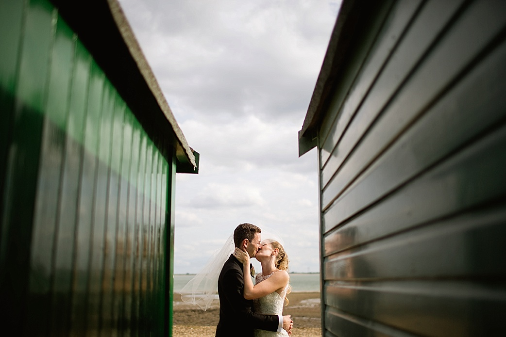 mike and Kate Mersea Island wedding