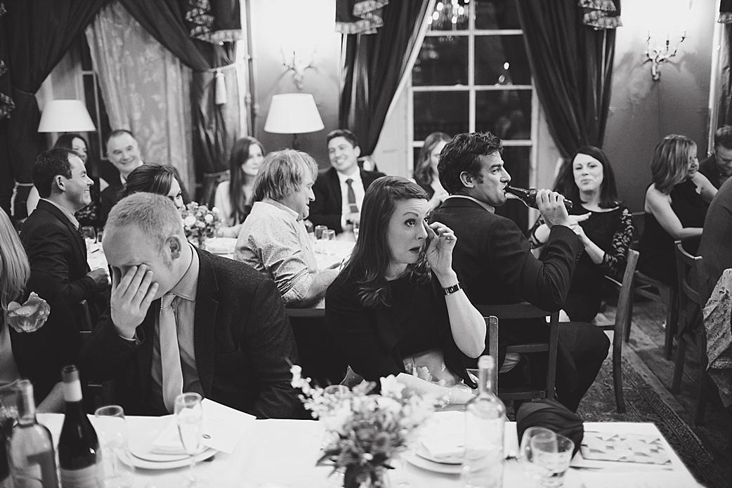 crying guests at Brunswick House