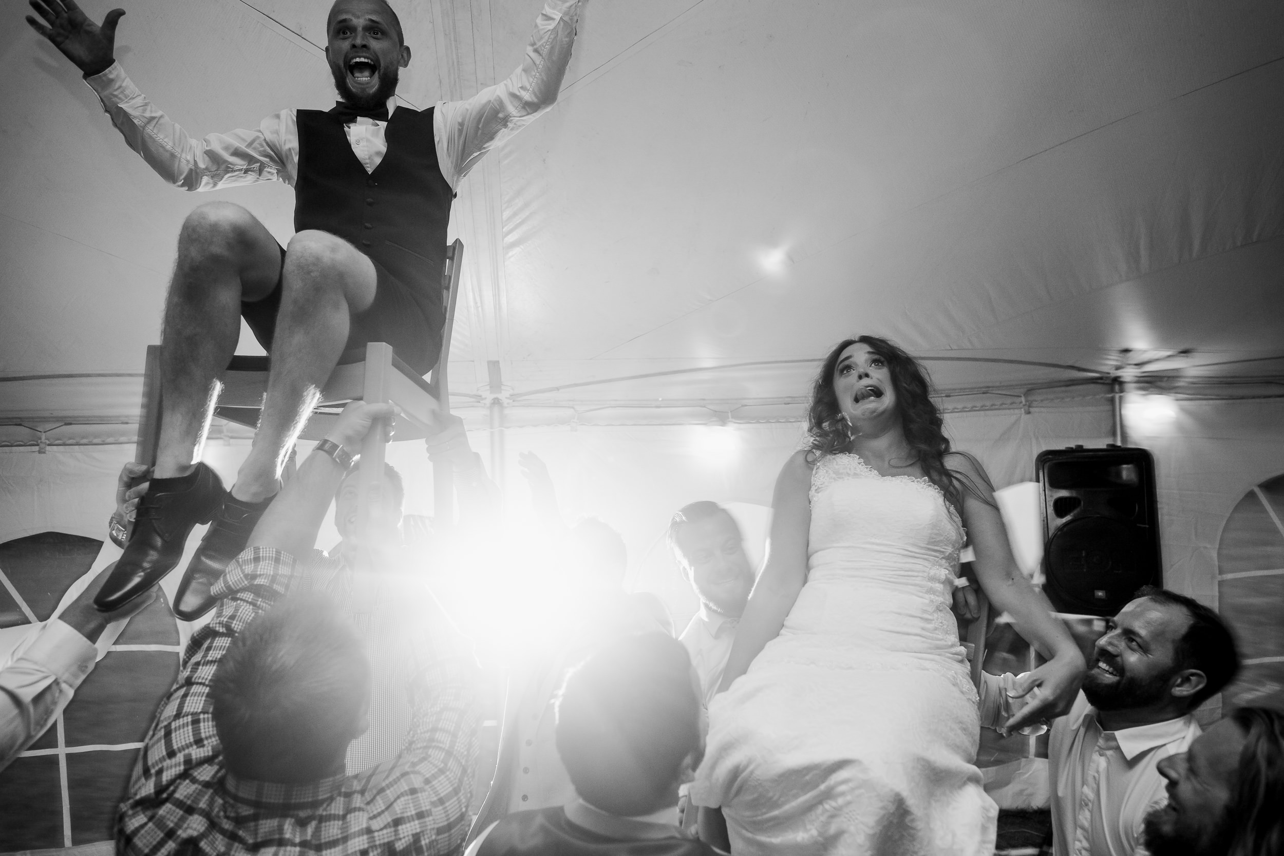 wedding  Hora - Jewish Wedding - Jewish chair dance - Canadian wedding