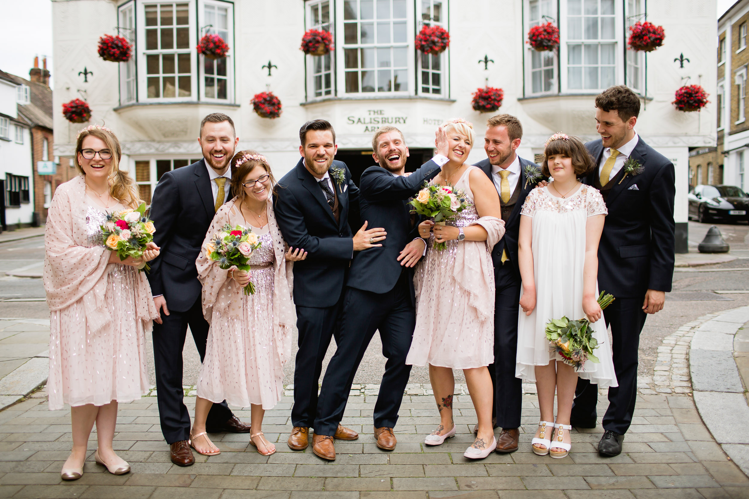 alternative wedding group shoots - same sex wedding - LGBT wedding - Birmimgham wedding