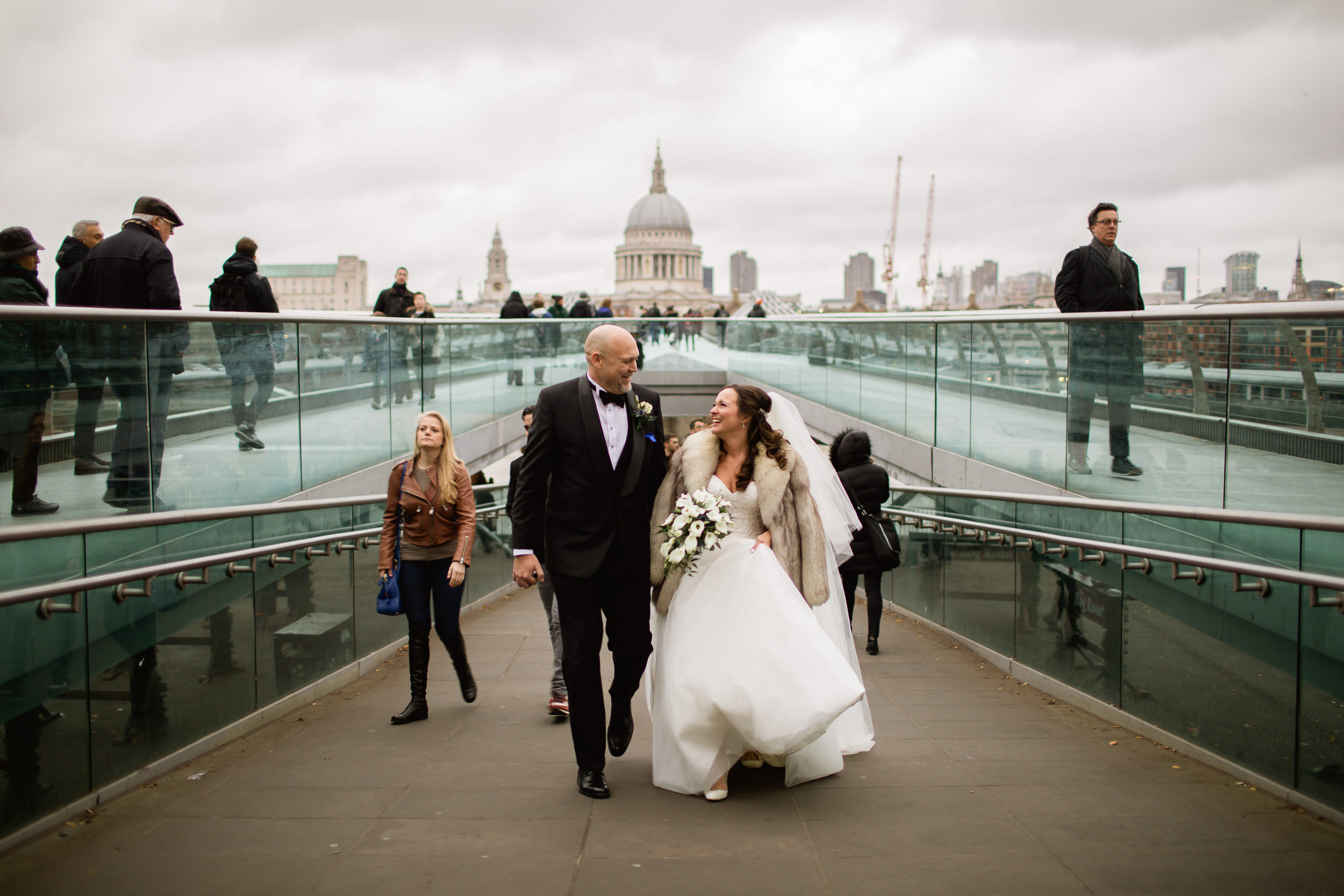 St Pauls London wedding - Wedding at St Pauls - Mondrain London wedding