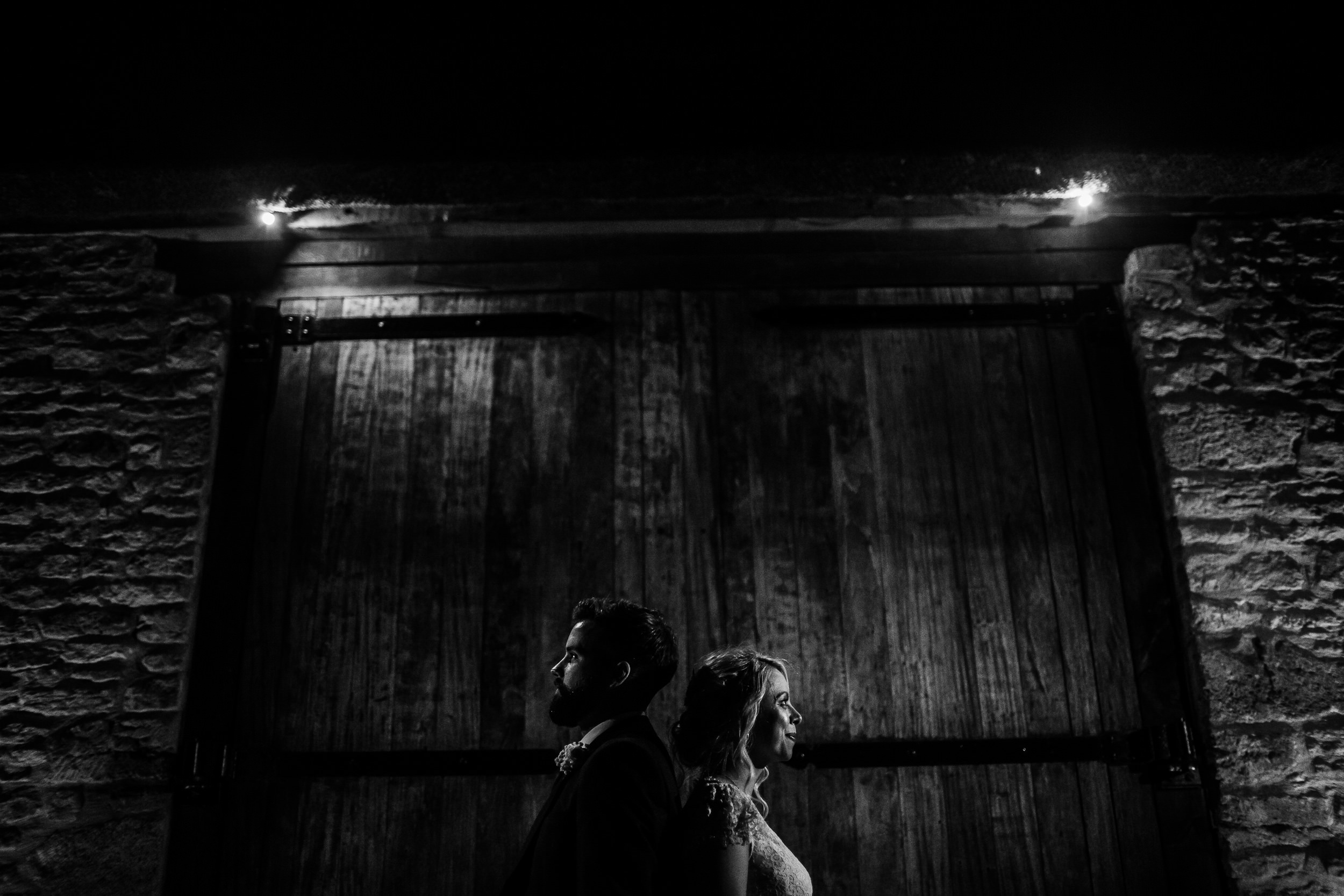 Tythe Barn wedding - Late night wedding portraits - Tythe Barn Photographer