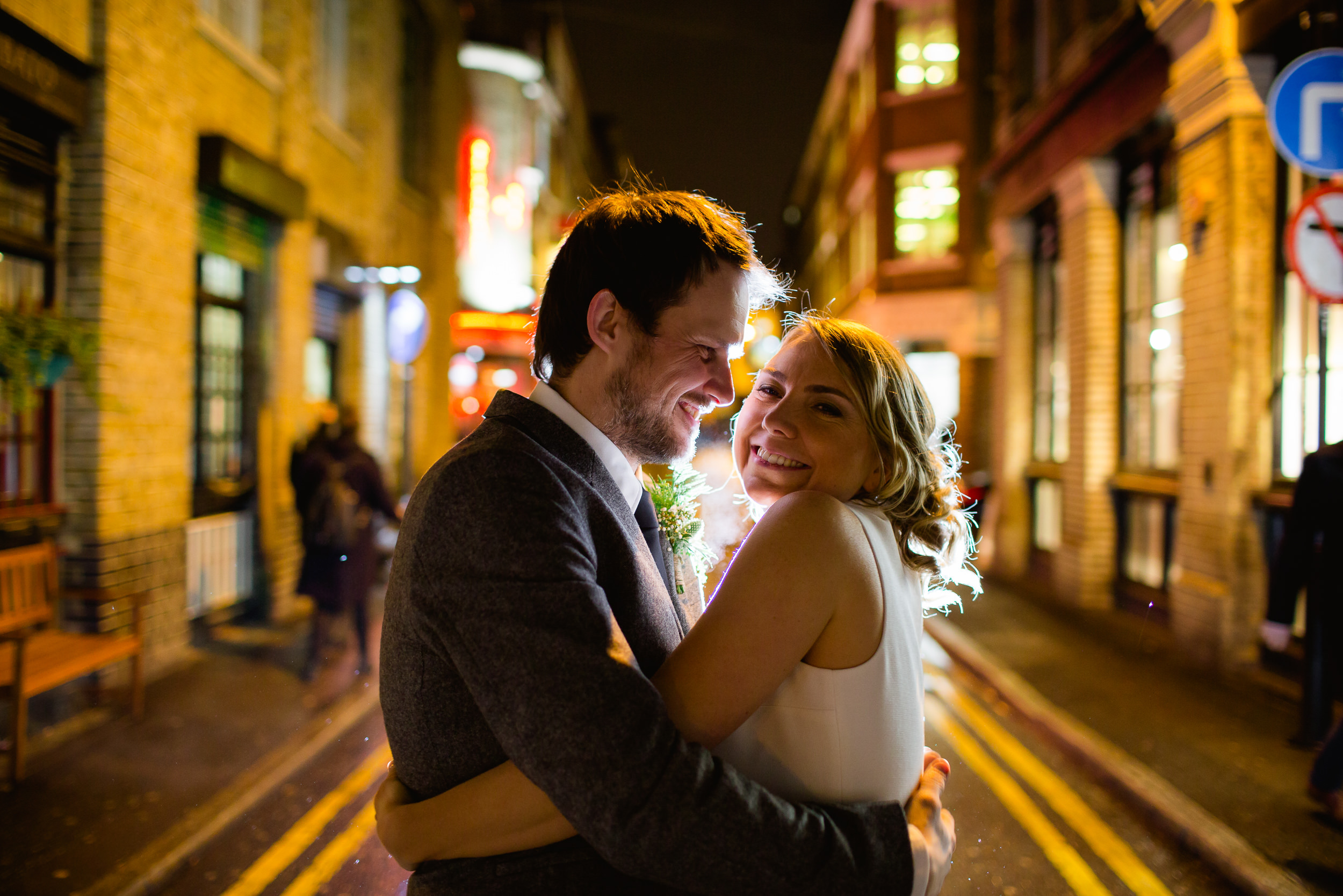 Romantic pictures at Tramshed London - London wedding pictures - Tramshed wedding