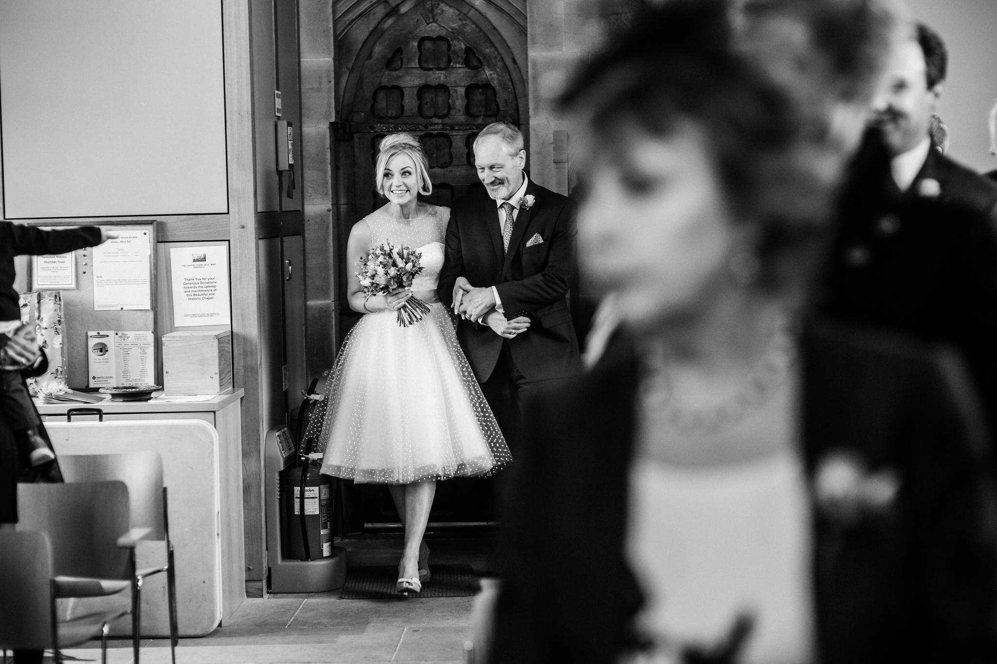 the bridal entrance