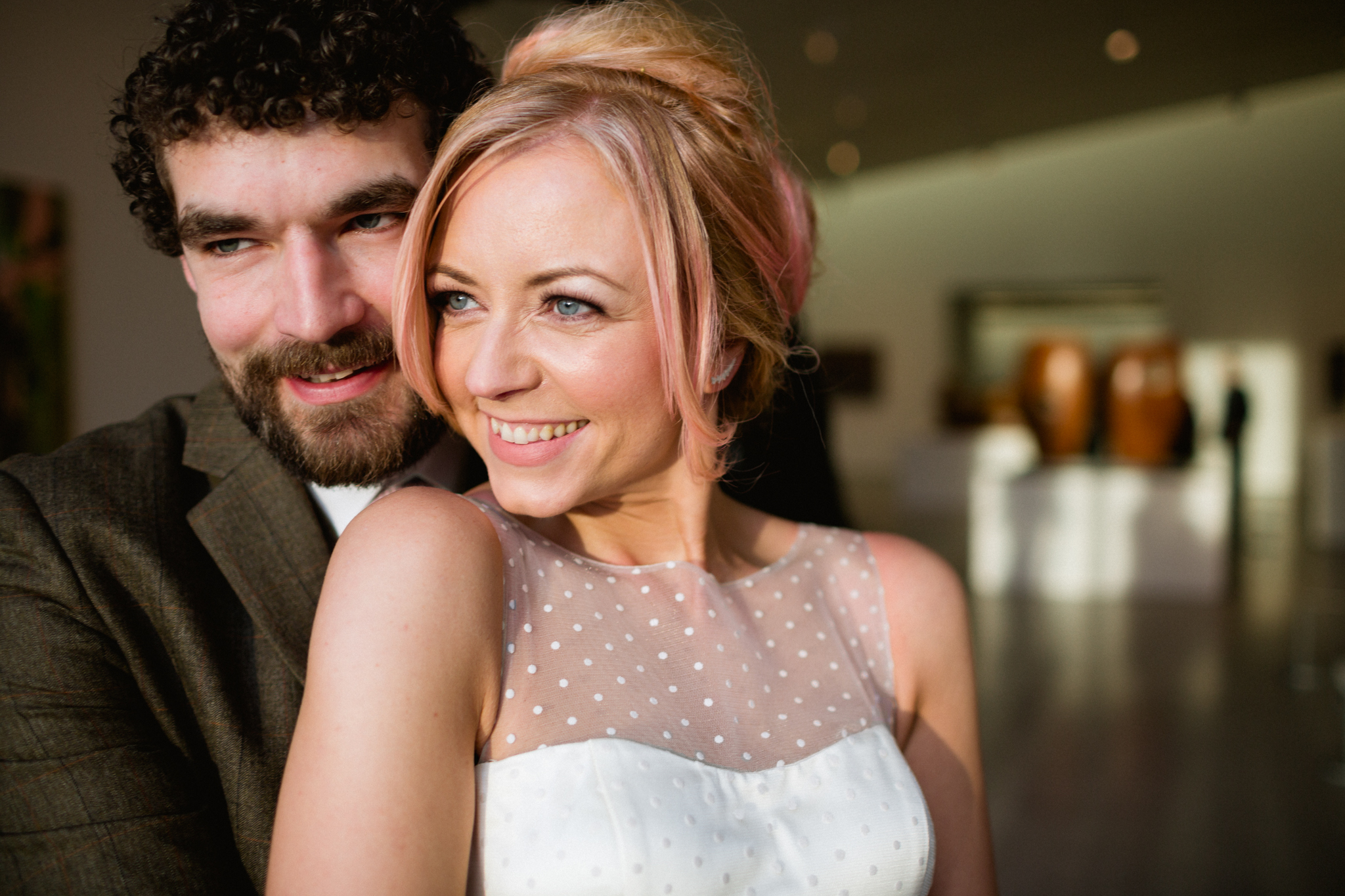 gallery wedding portraits