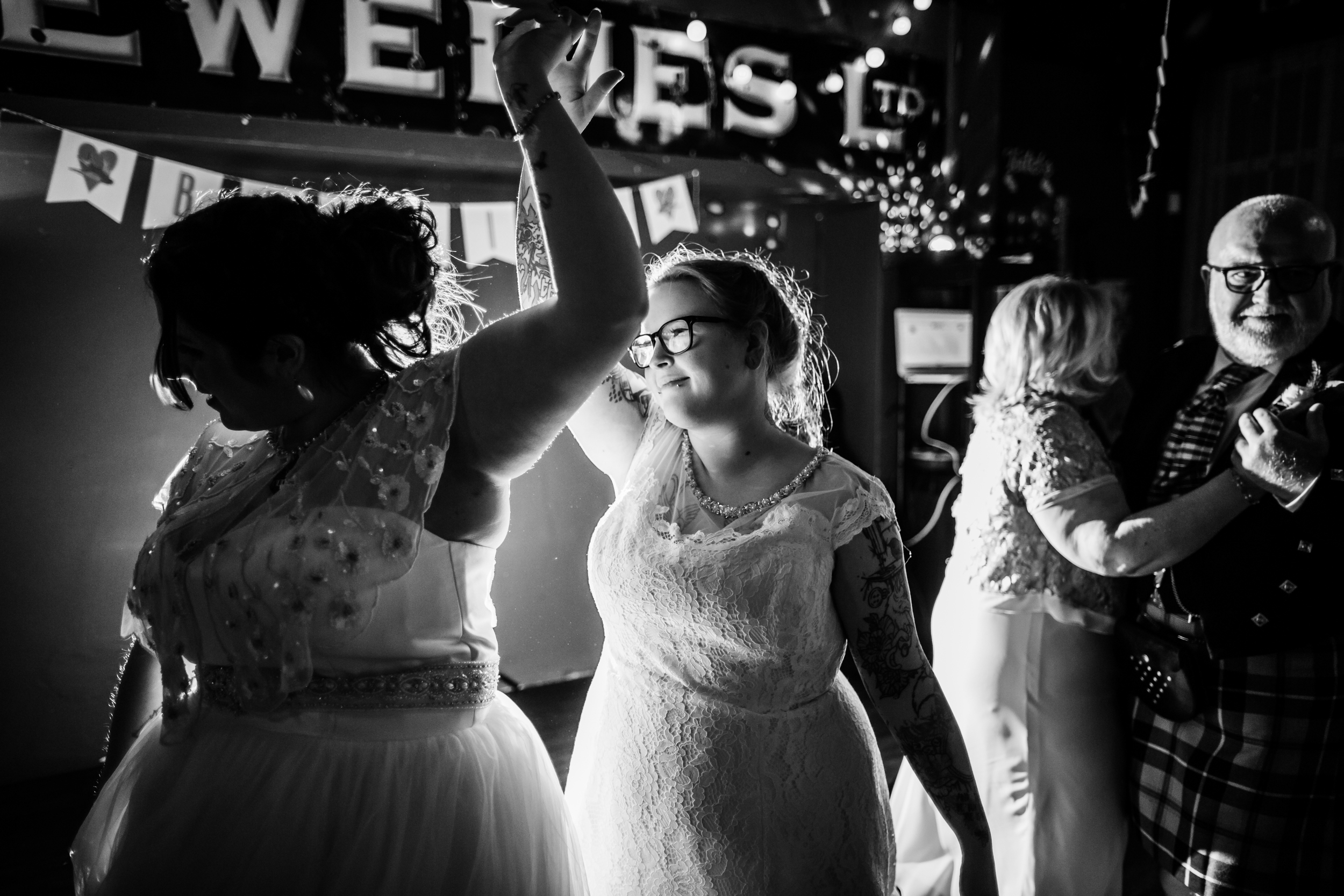 First dance at cherry reds