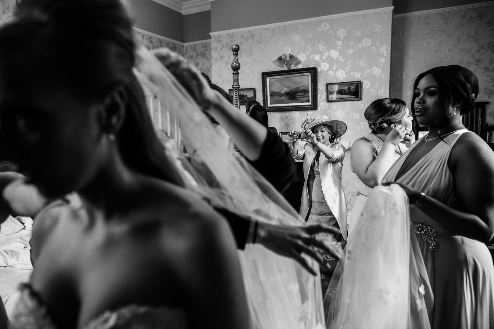 heartfelt documentary wedding photography at Elemore Court