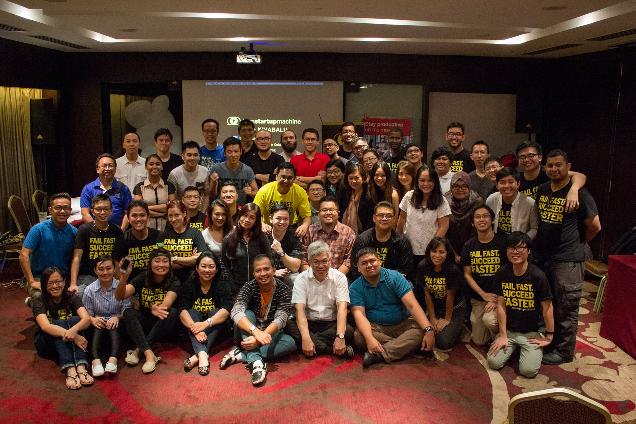 Lean Startup Machine Kota Kinabalu 2015 Group Photo