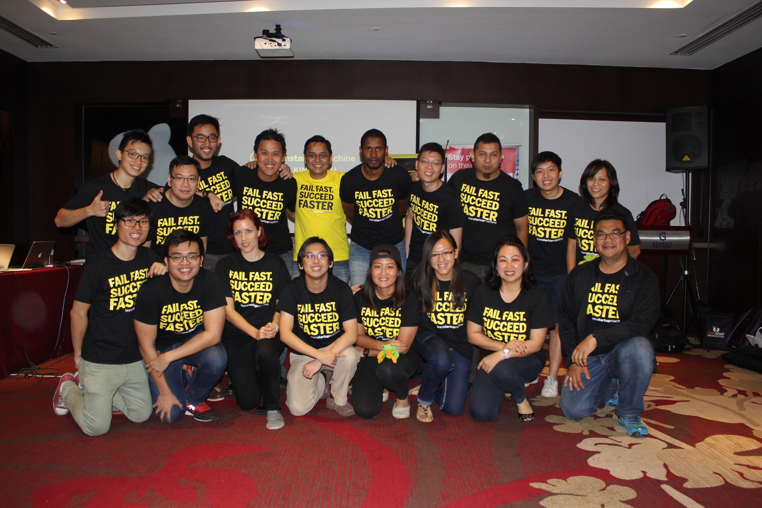 LSM KK Organizers, Mentors and Volunteers