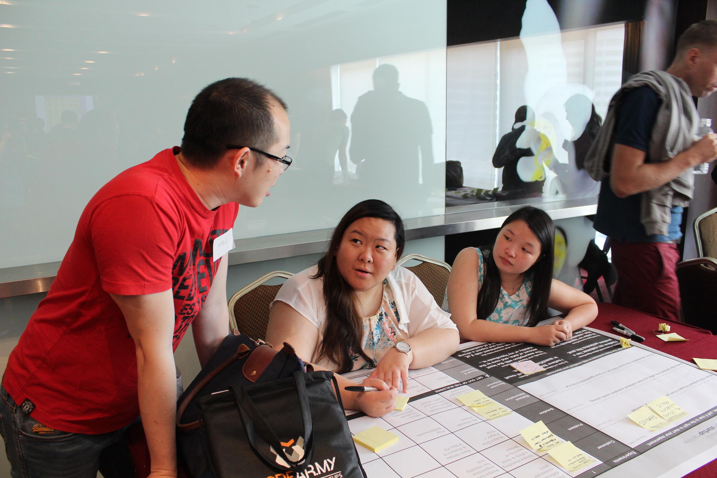 Brekkie2u Team designing their first experiment