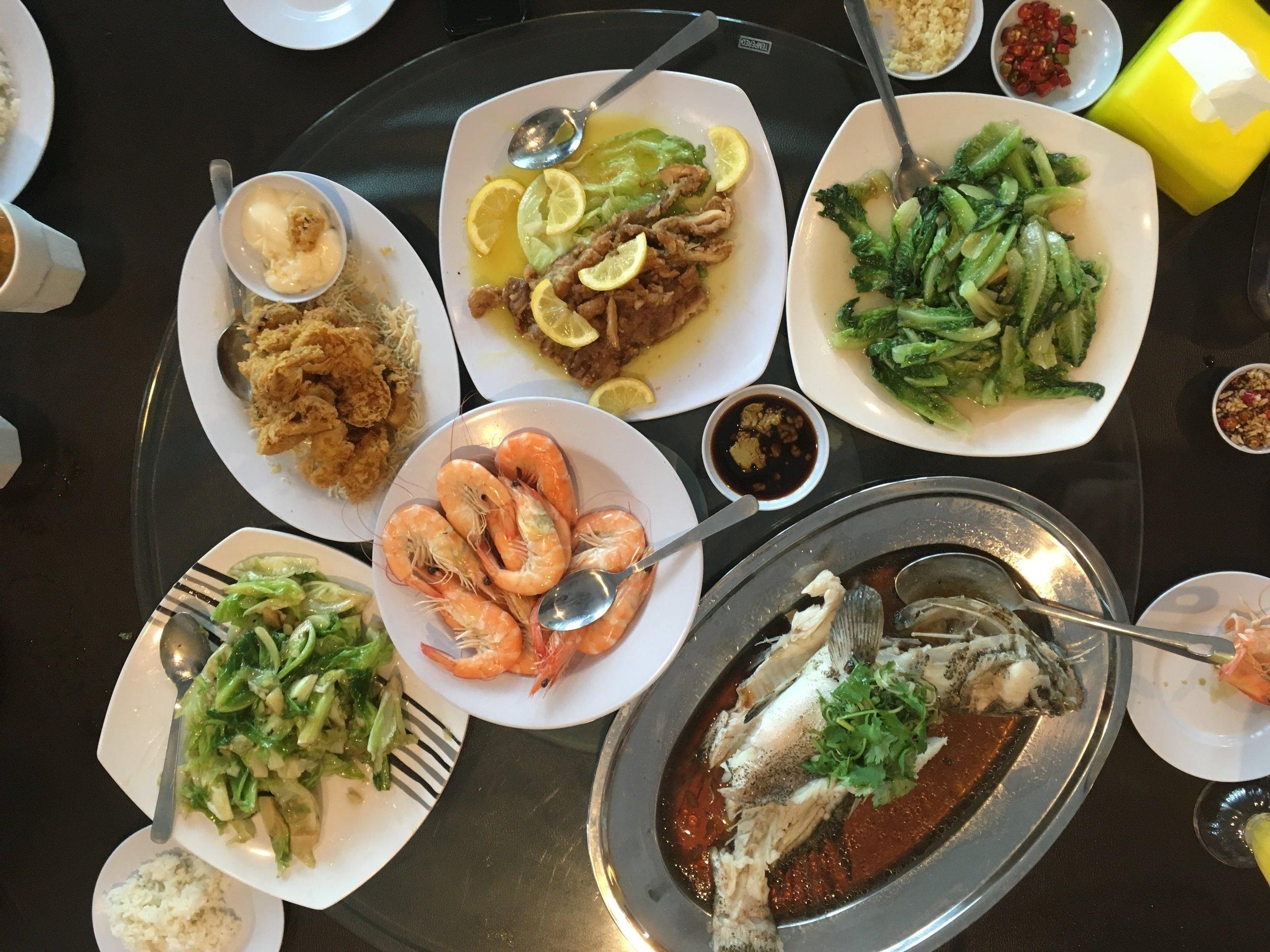Our Team Lunch at  Sembulan Lobster Restaurant . Credits -  John Wong