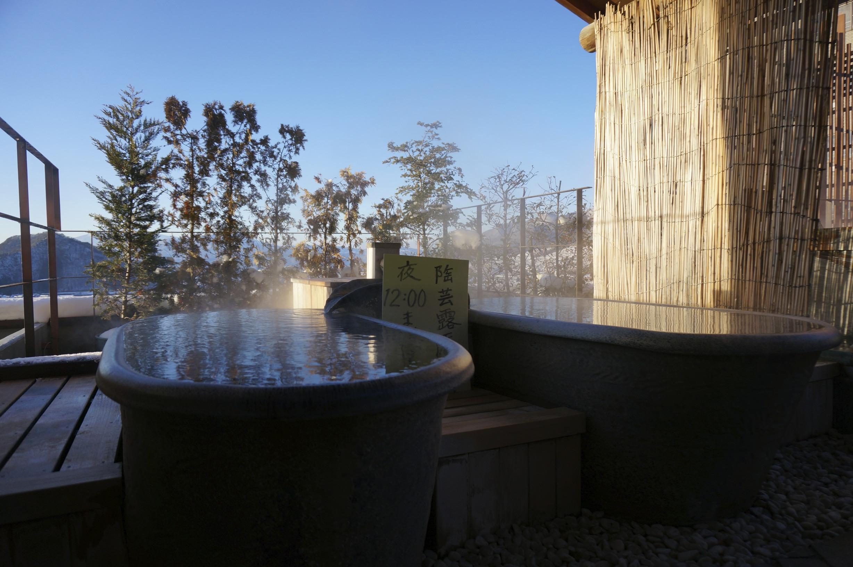 Hotel Tsubakino – Outdoor onsen tub