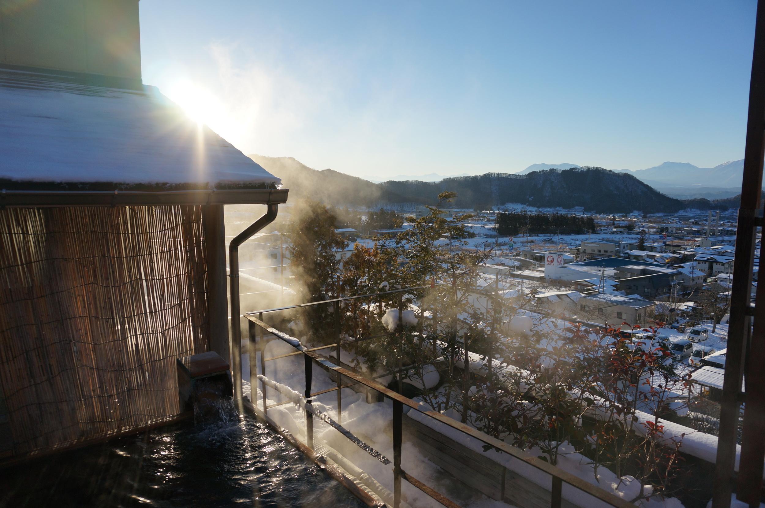 Hotel Tsubakino – Outdoor onsen pool