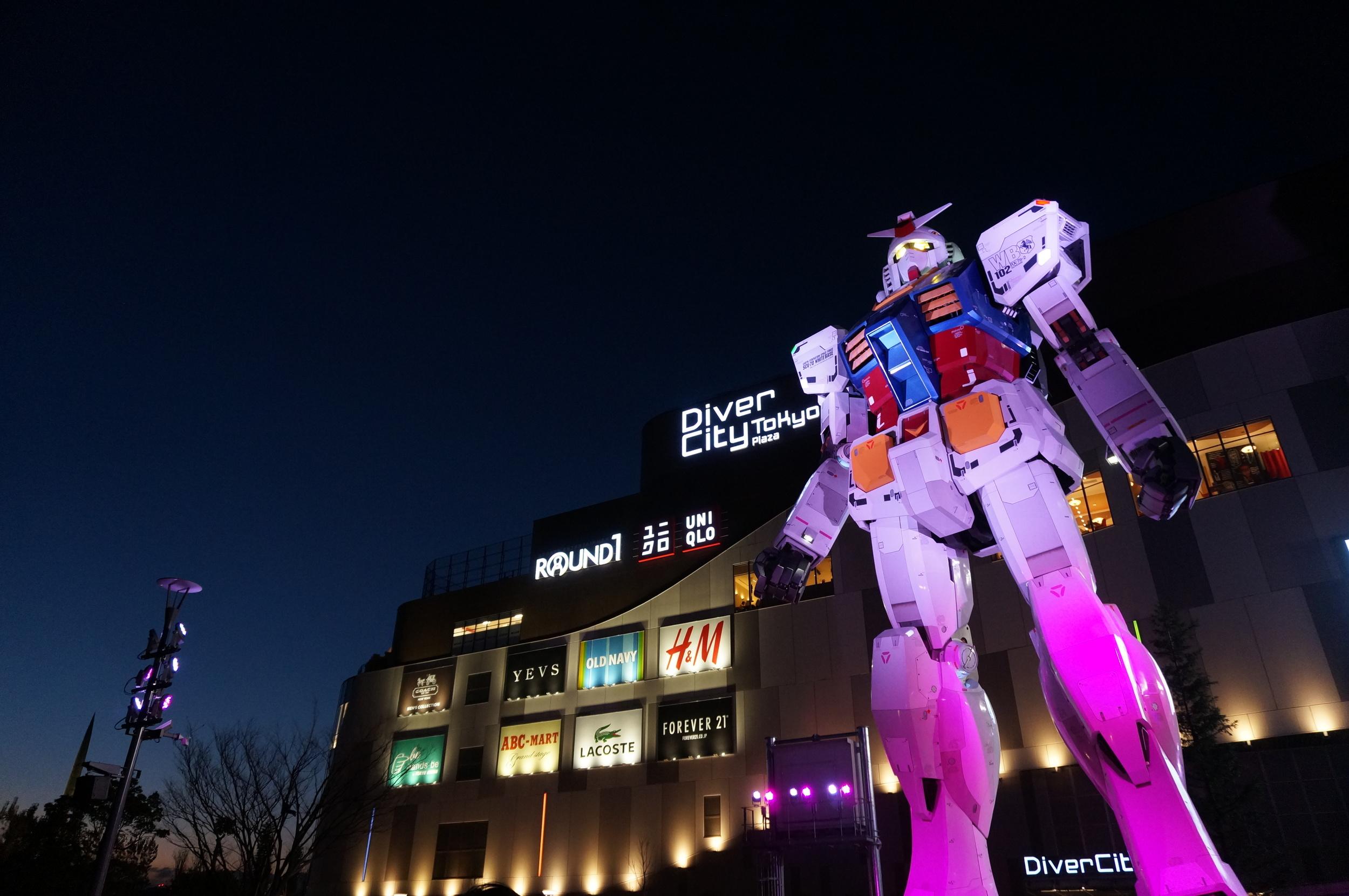Tokyo – Mobile Suit Gundam
