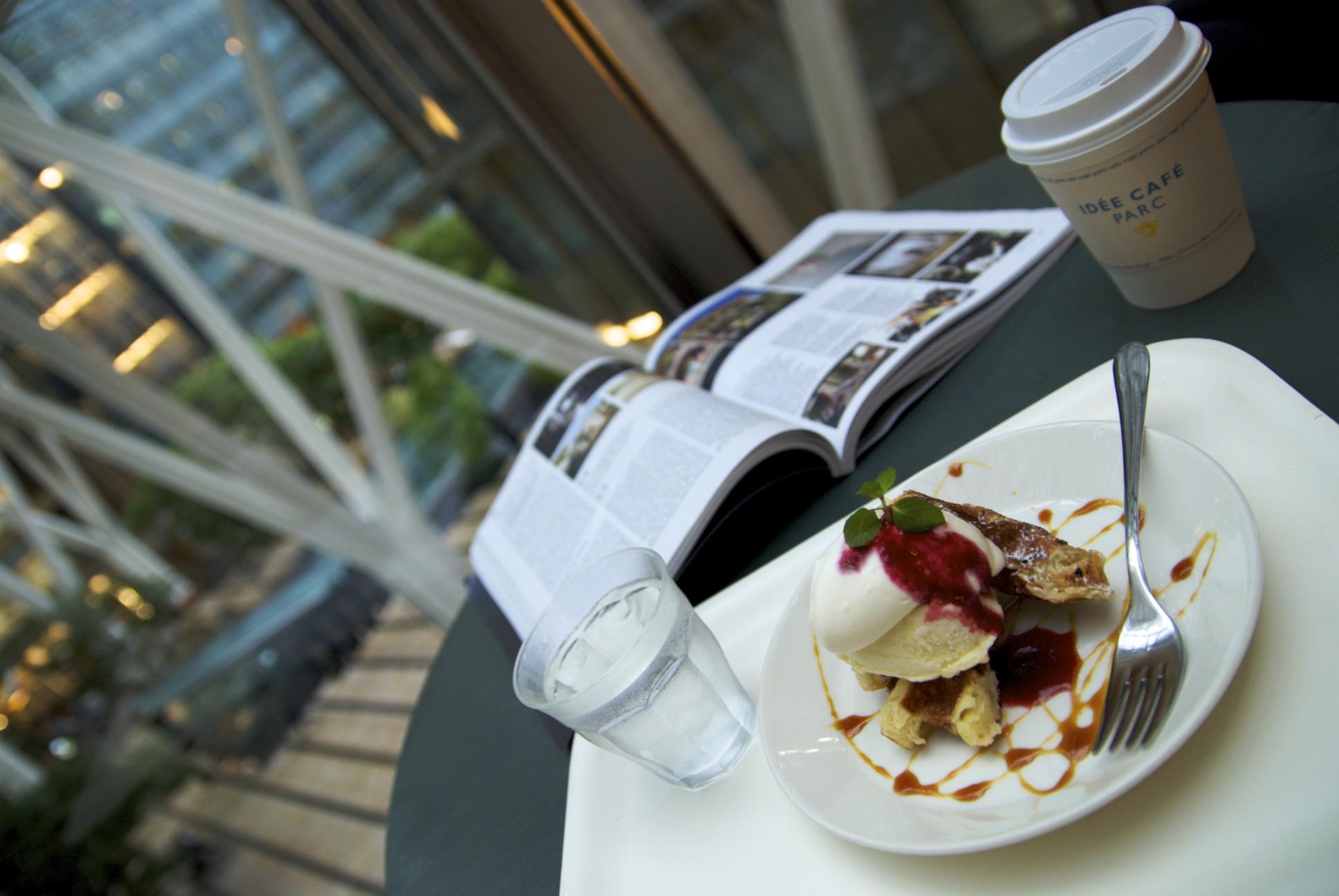 Idée Café Parc, Tokyo Midtown