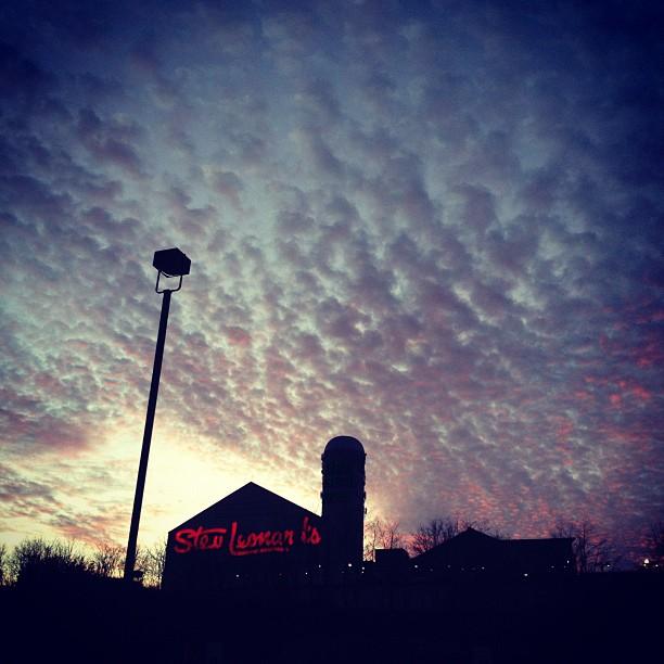 Oil painted skies. (Taken with  instagram )