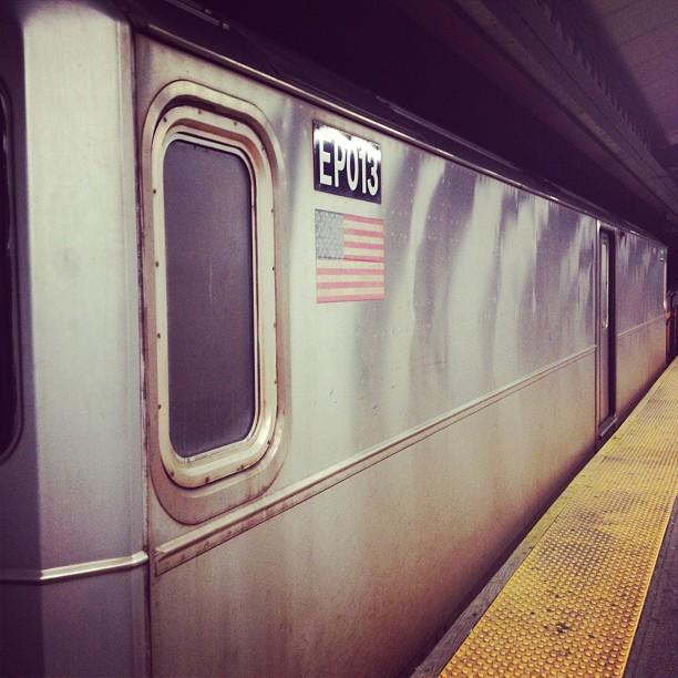 The one door train.  (Taken with  instagram )