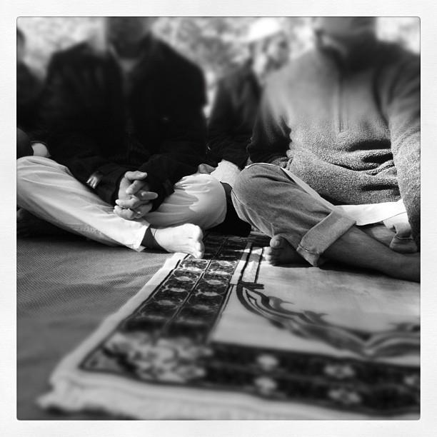 Prayer is approaching.  (Taken with  instagram )