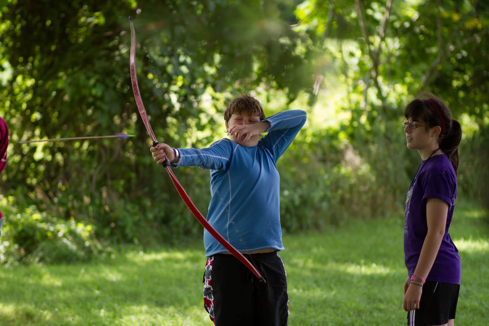 Taking aim at summer camp 2014