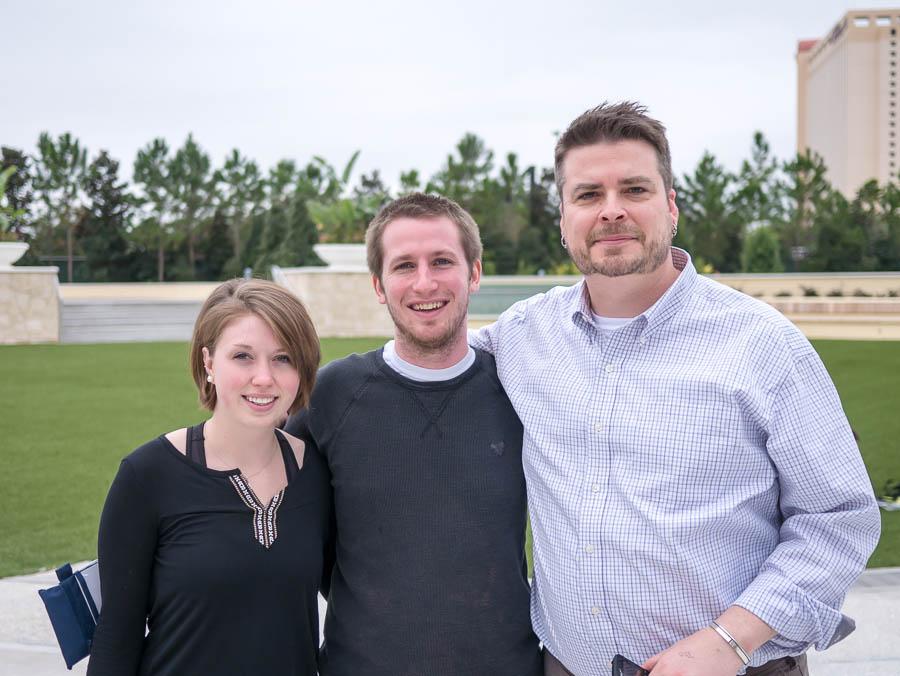 Laura, Jack & Travis in Miami at ACA National 2014