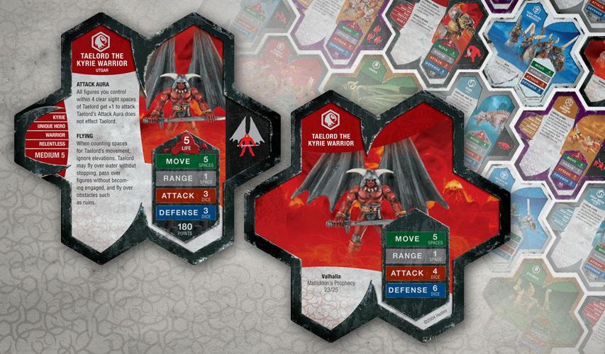 Heroscape cards
