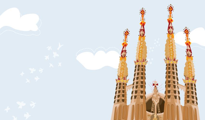 Sagrada Família illustration