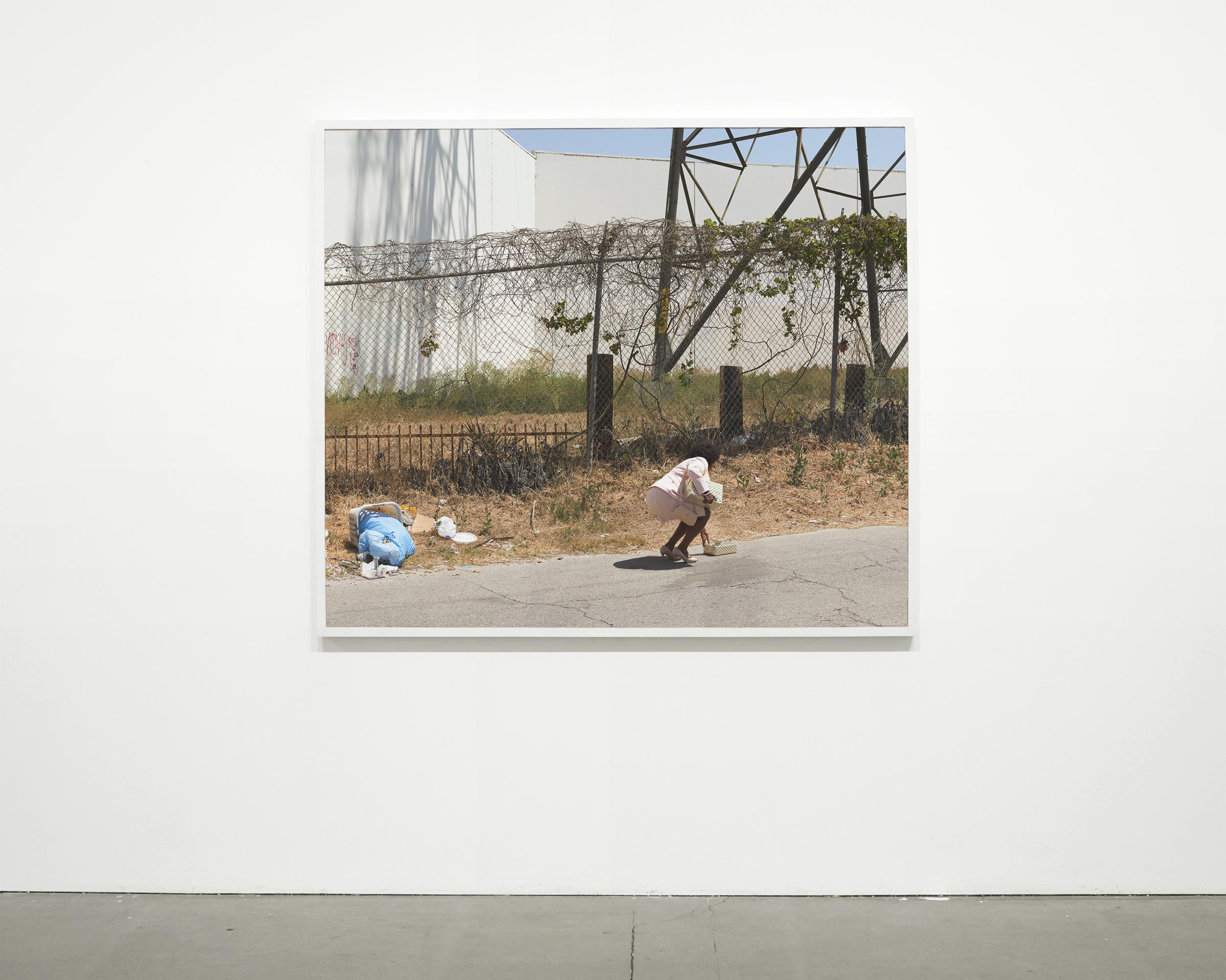 """""""Backlot"""", 2017 - 2018  54 x 63 in. (137.15 x 160 cm)"""