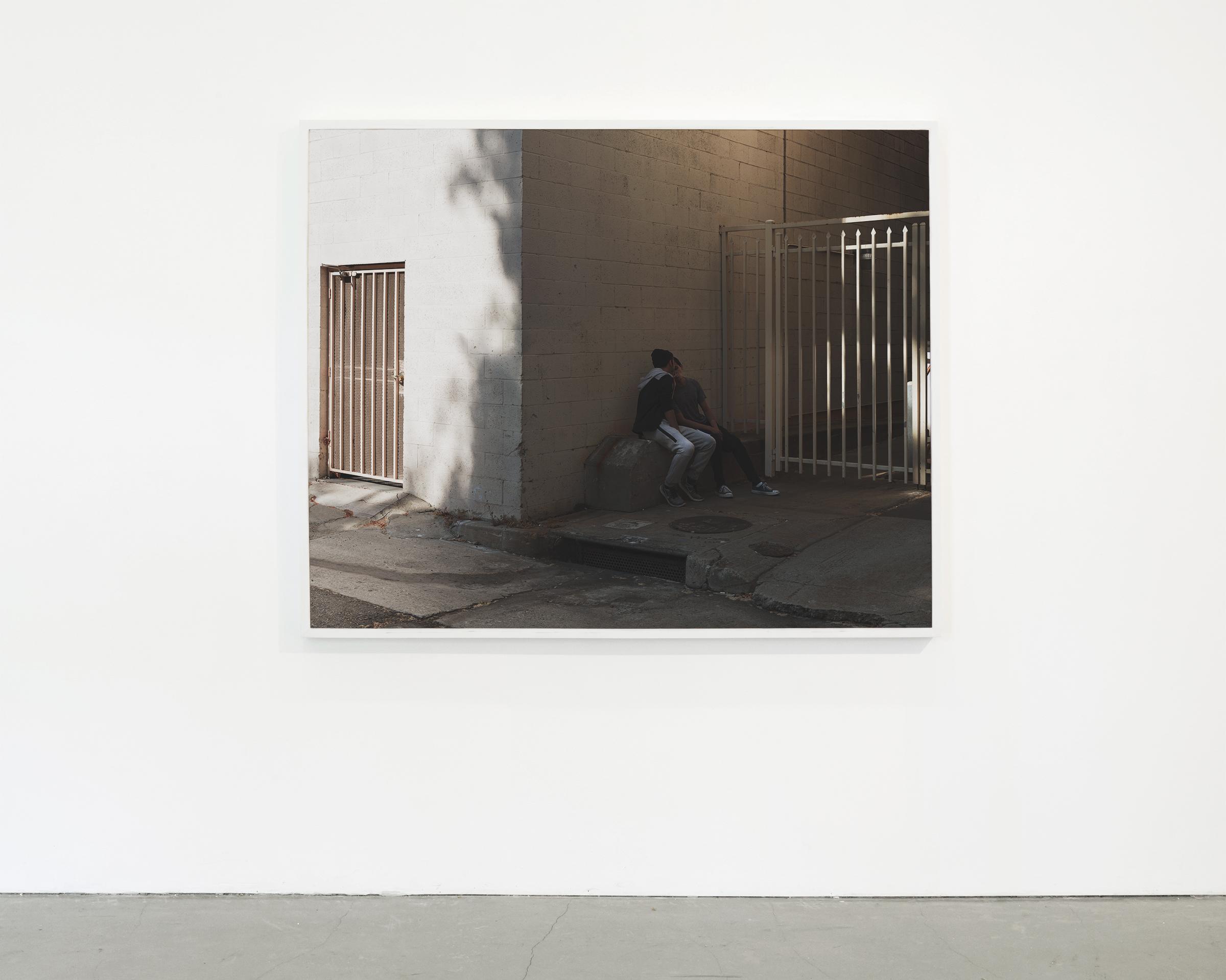 """Corners"", 2017 - 2018  54 x 67.50 in. (137.15 x 171.45 cm)"