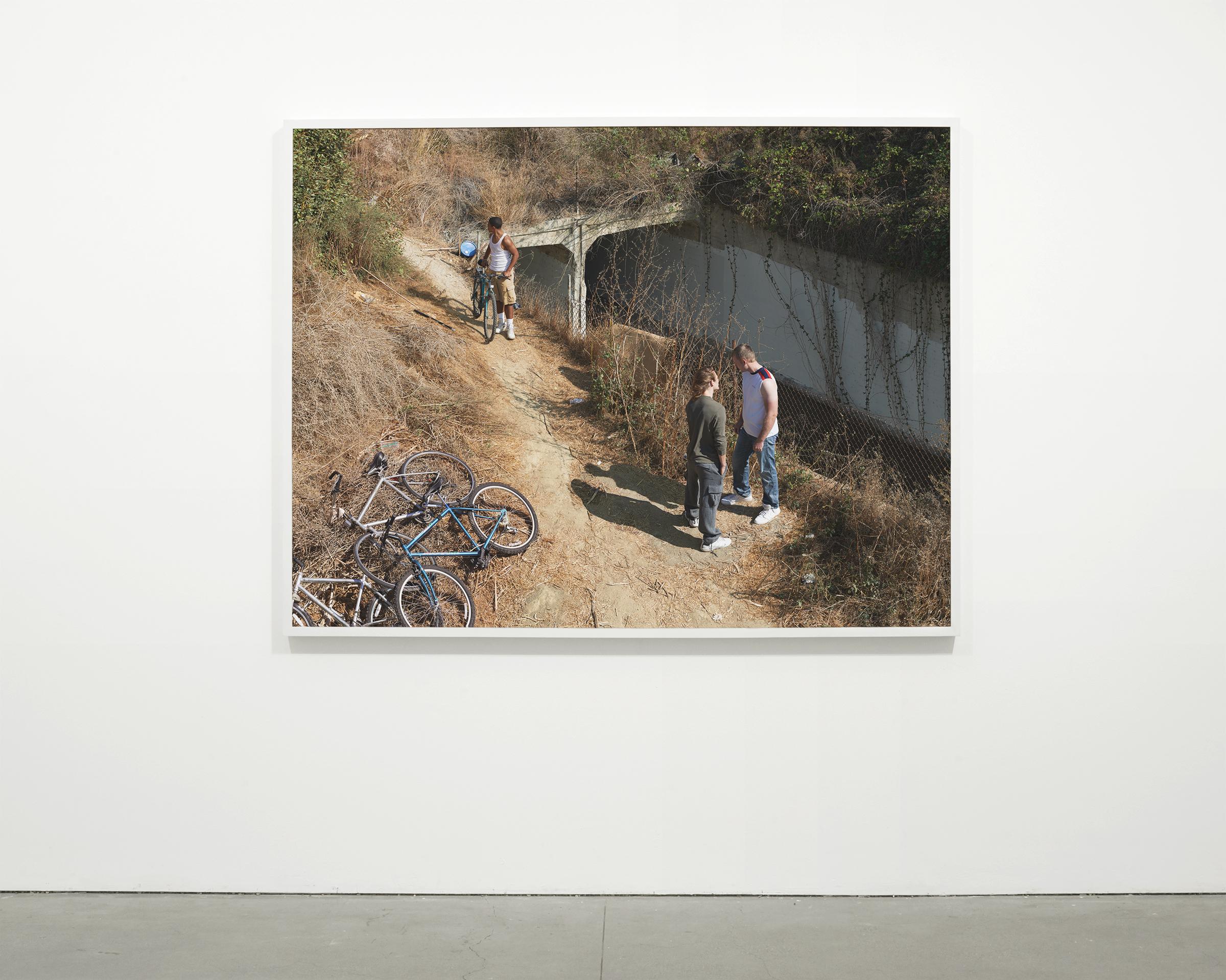 """Embankment (Ad Infinitum)"", 2017 - 2018  54 x 71 in. (137.15 x 180.35 cm)"