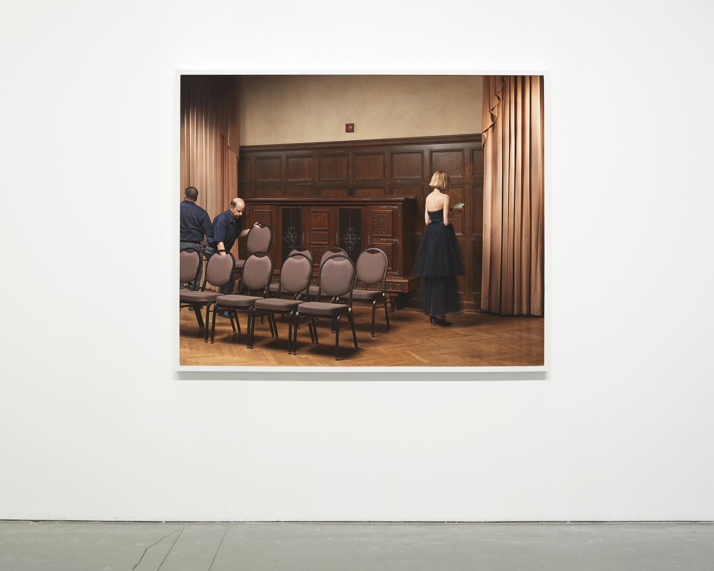 """""""Rehearsal"""", 2018  54 x 67.50 in. (137.15 x 171.45 cm)"""