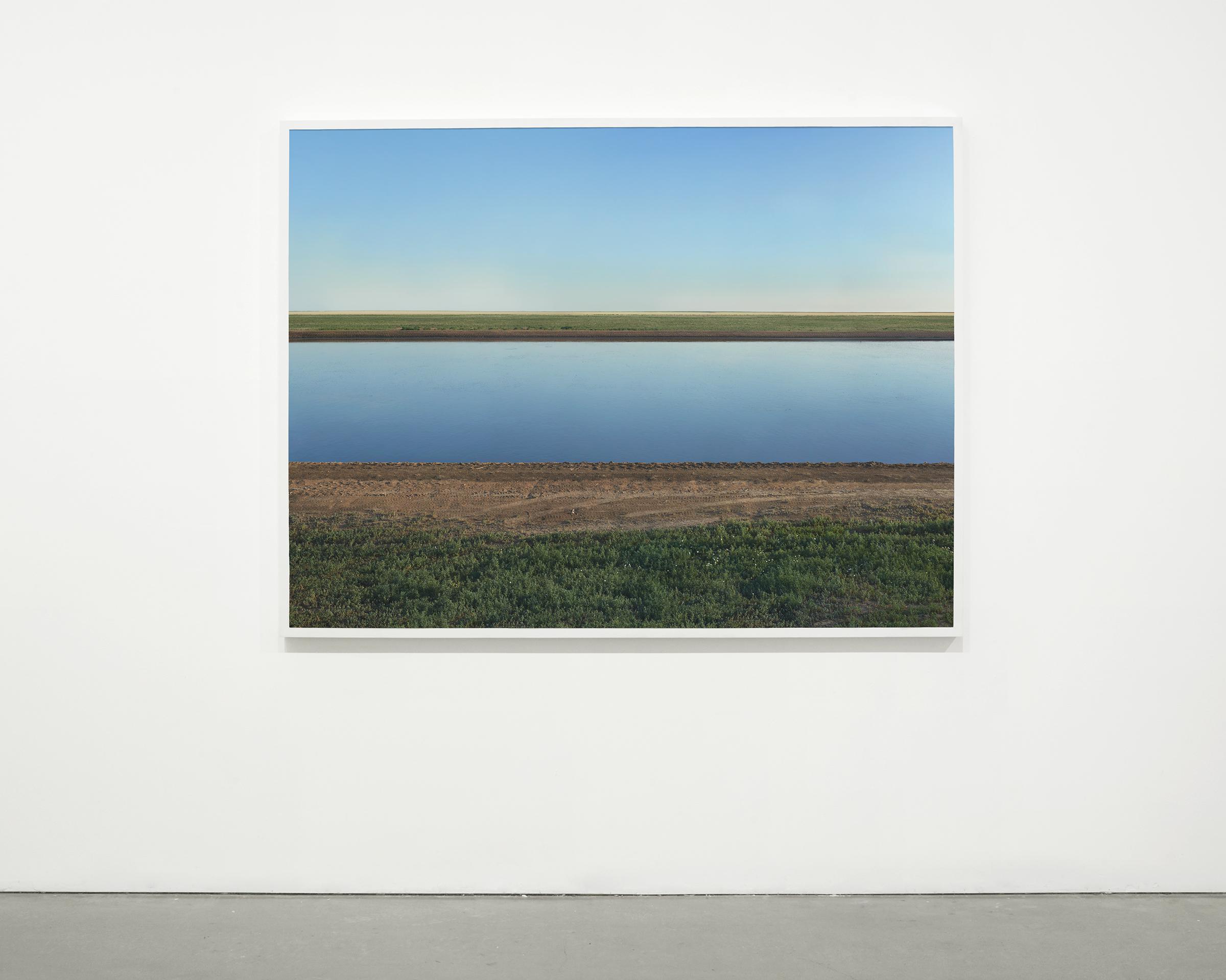 """""""Lagoon Six"""", 2013 - 2015  54 x 72 in (137.15 x 182.88 cm)"""