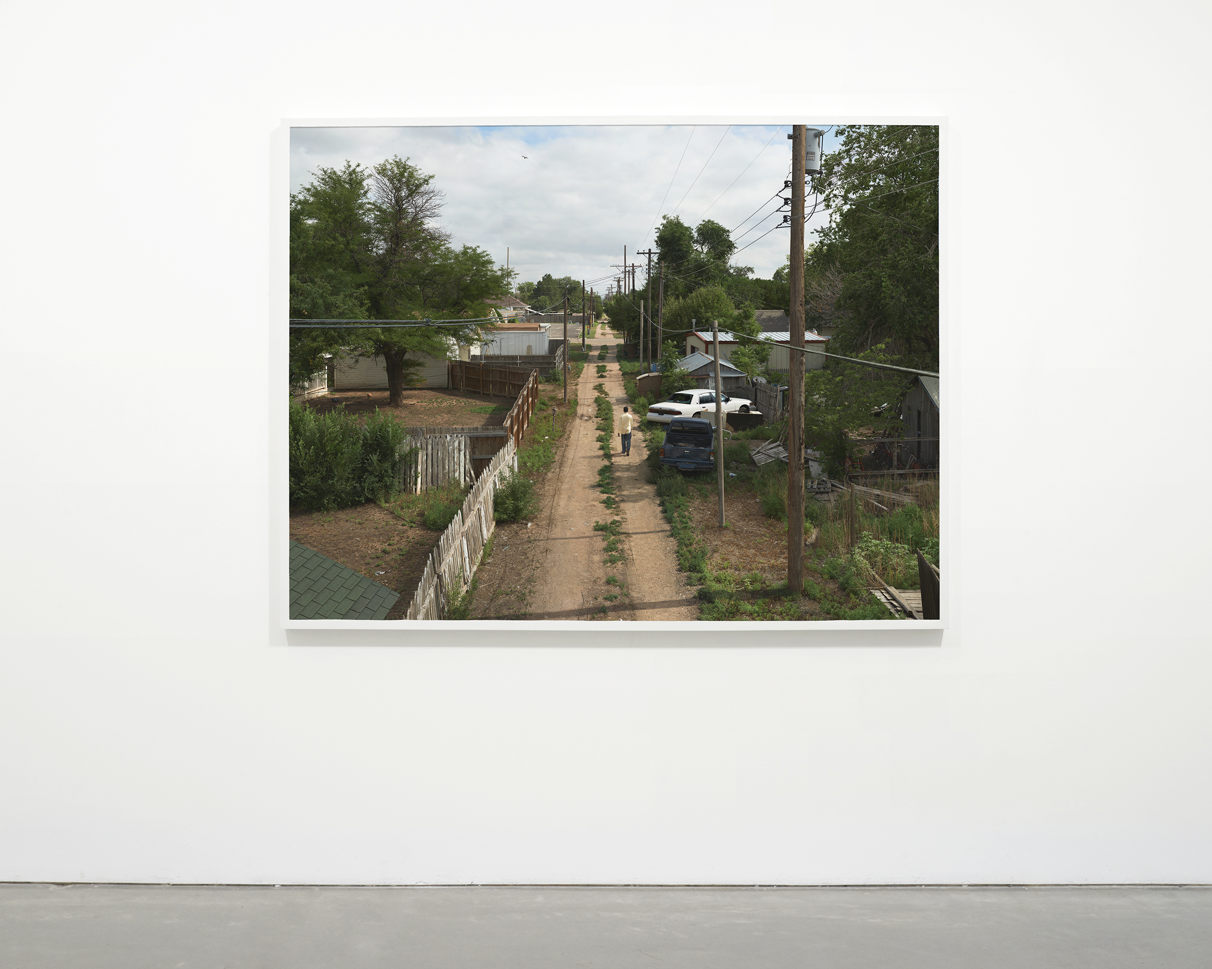 """""""Alley"""", 2013 - 2015  54 x 71.75 in (137.15 x 182.25 cm)"""