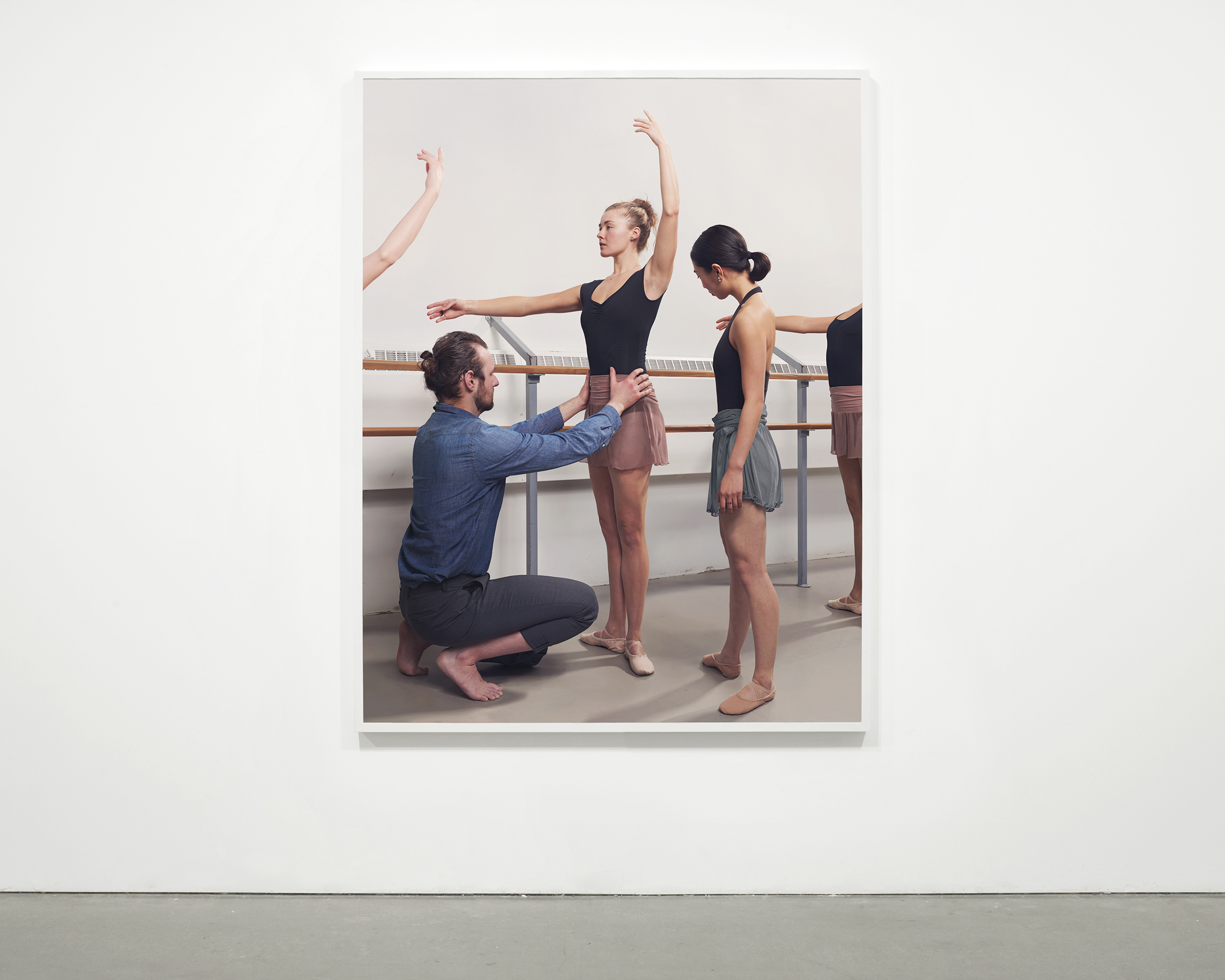 """Practice"", 2015  69 x 54 in. (175.25 x 137.15 cm)"