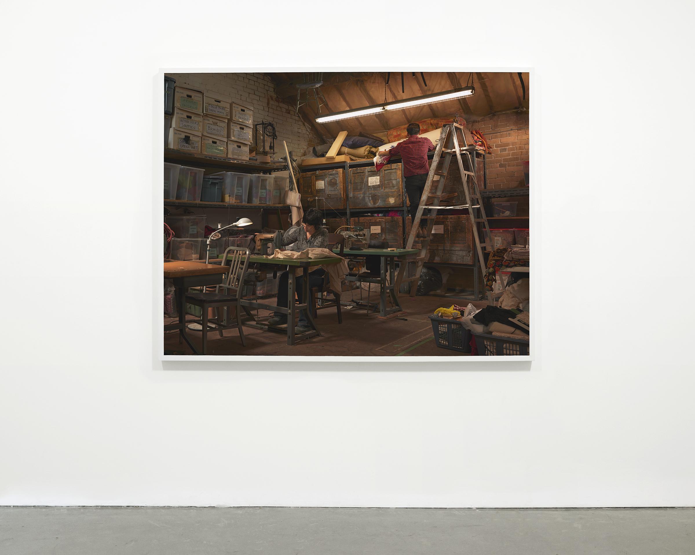"""Props"", 2014 - 2015  54"" x 69.25 in (137.15 x 175.90 cm)"