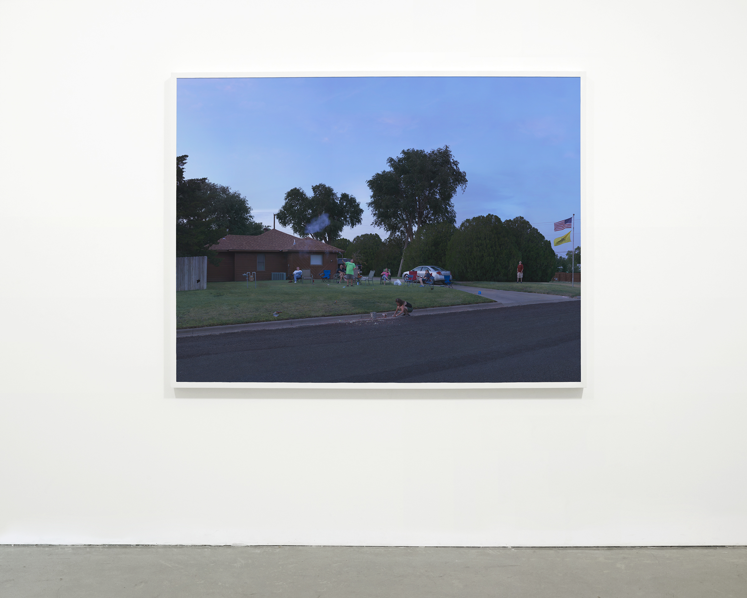 """""""July Forth"""", 2013 - 2015  54 x 72 in (137.15 x 182.88 cm)"""