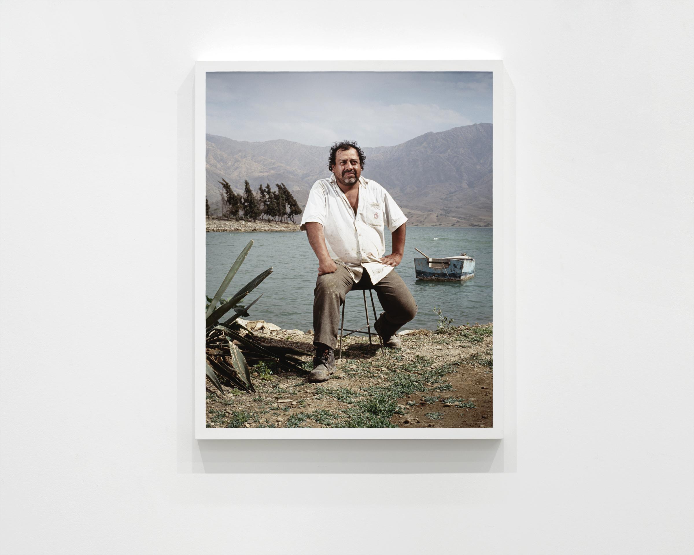 """""""Juan"""", 2008  30 x 24 in (76.2 x 60.96 cm)"""