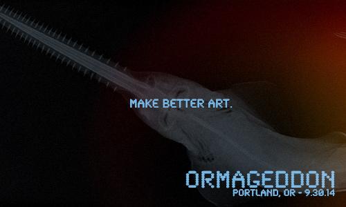 Portland, Oregon! September 30th. Click the image to register.
