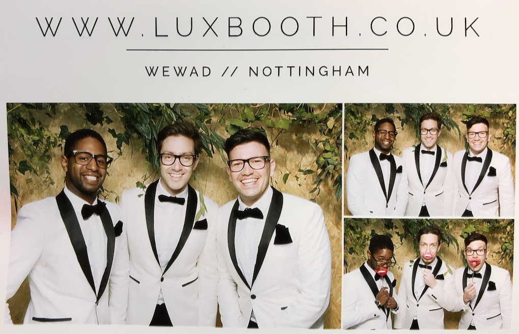 Of course one photo booth was not enough for the Souljers, who could not resist the fun props of the  Luxbooth  photo booth!