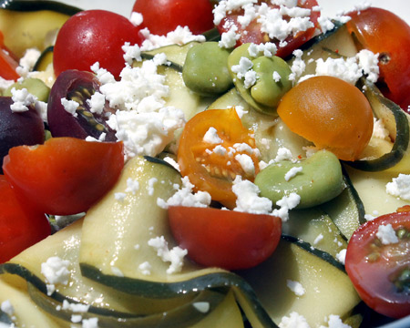 Healthy Summer 'Pasta' Salad