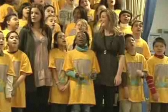 PS 22 Choir at Radio City Music Hall with Celtic Woman