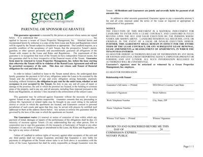 Download the Sponsor Guarantee PDF.