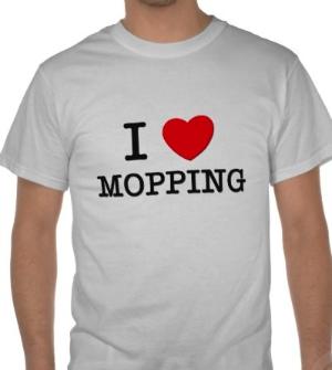 Cannot WAIT til Moppin' Mondays...