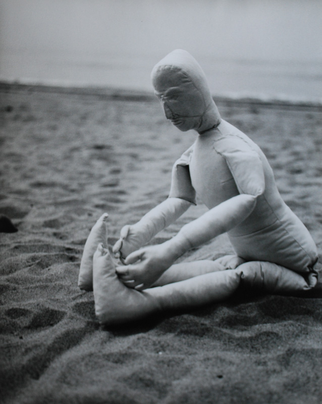 "Dummy: Beach (1998) 18""X24"" color photograph"