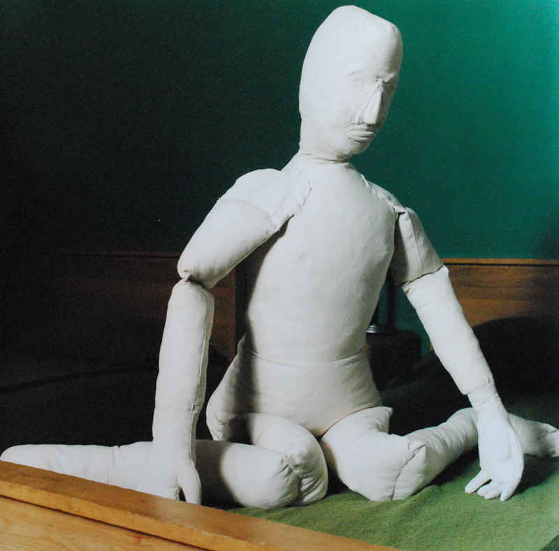 "Dummy: Double (1998) 18""x24"" color photograph"