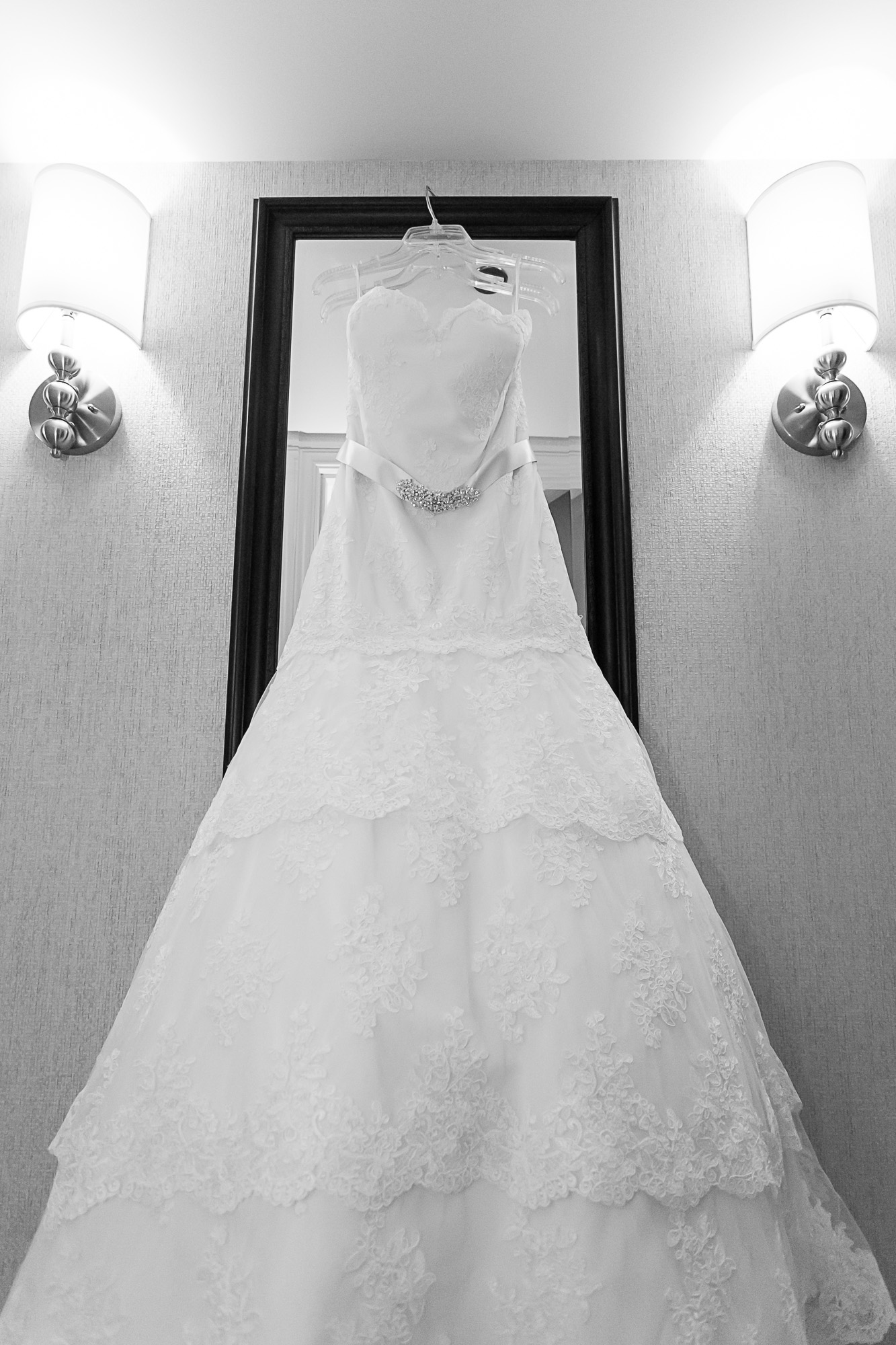 The dress is ready.