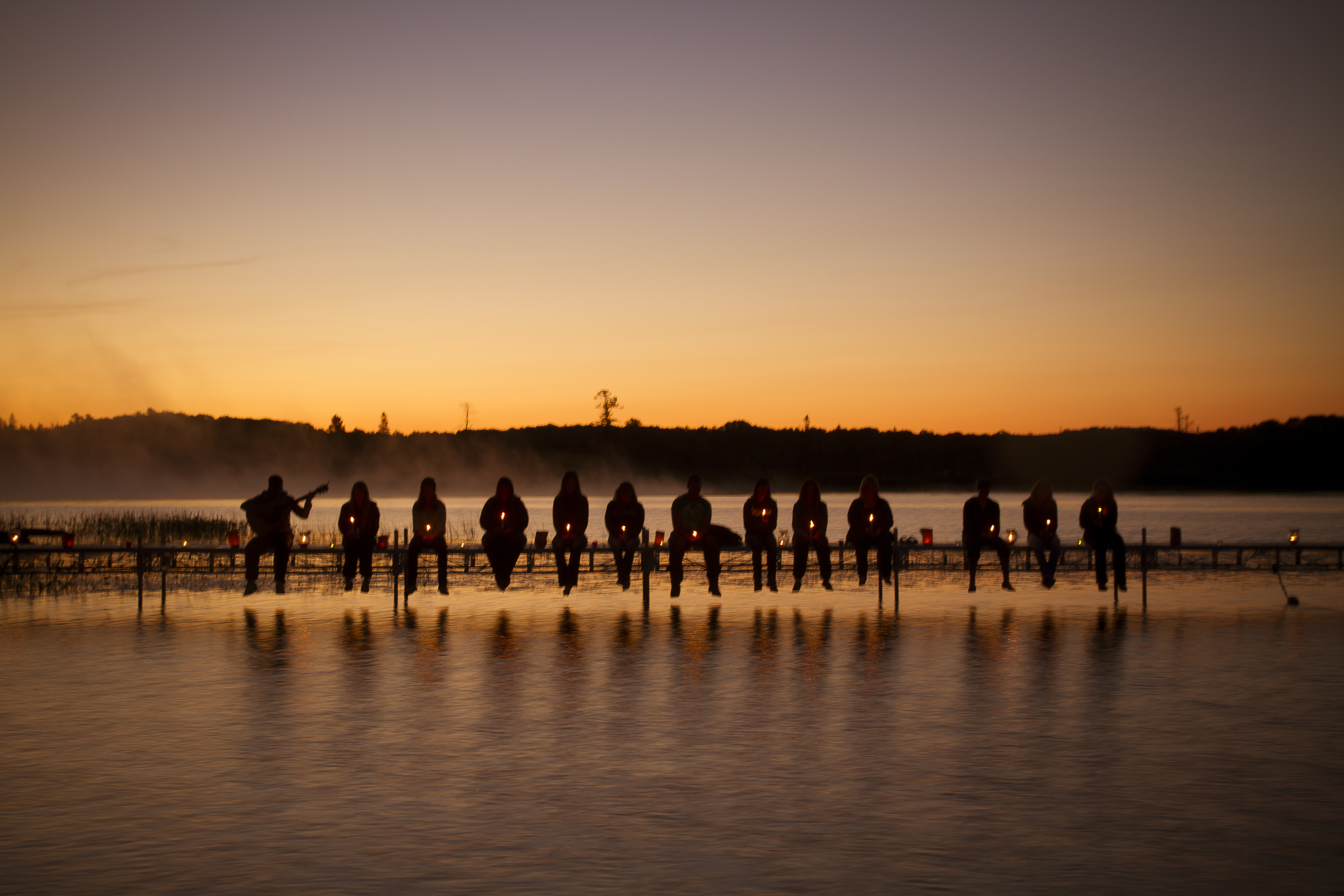 Sunrise at Glen Mhor Camp