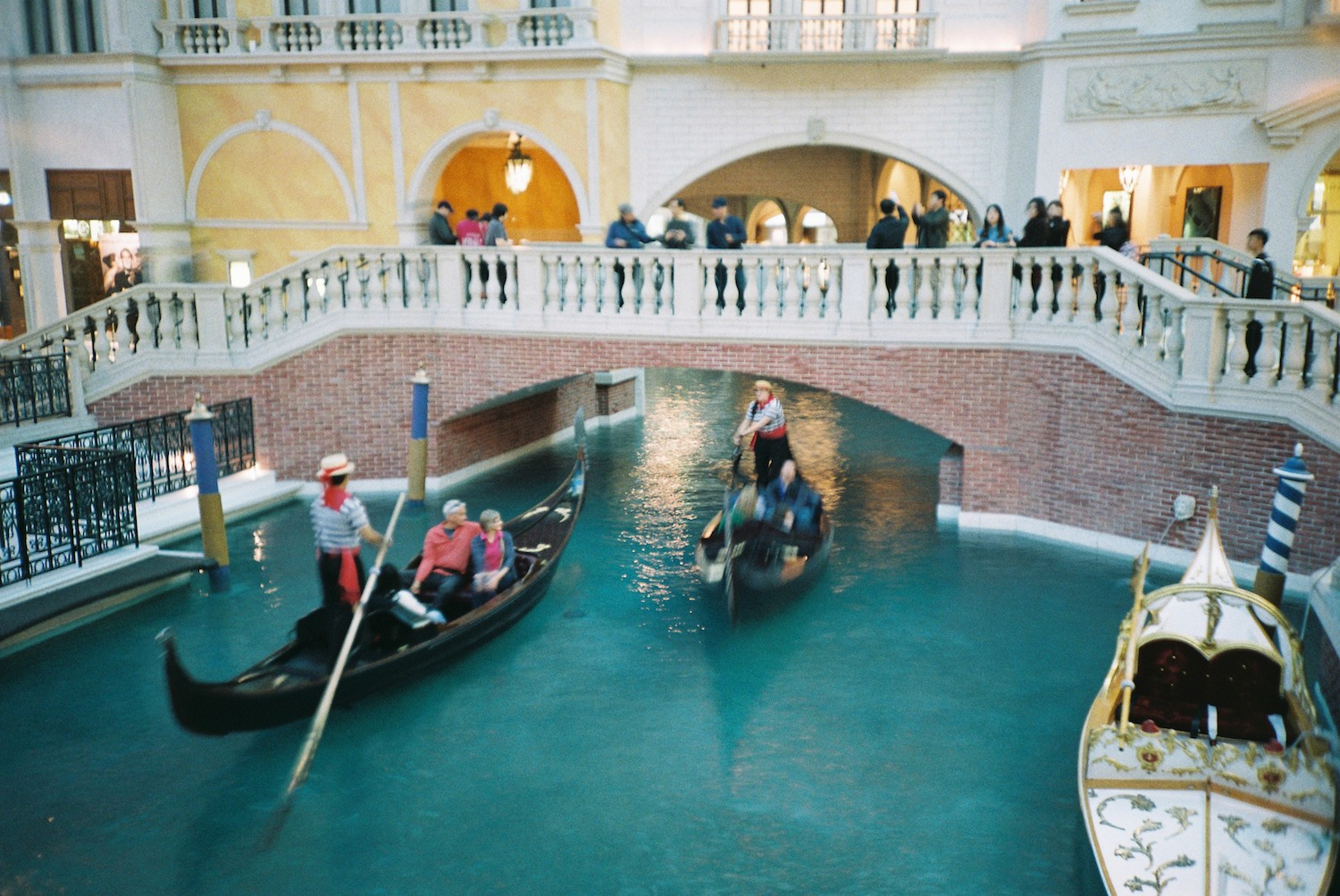 Canal in the Venetian